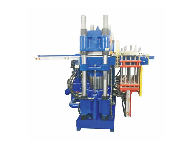 高精密度双油泵全自动前顶3RT开模油压平板硫化机