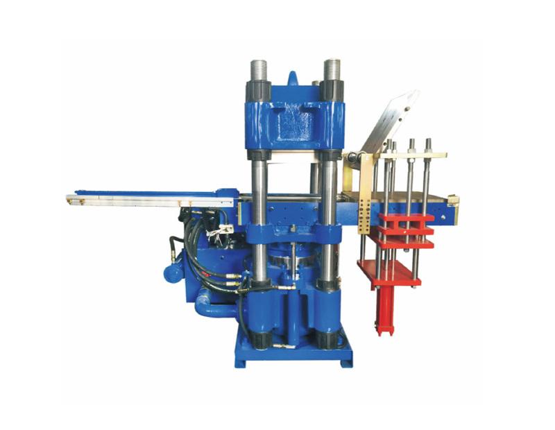 高精密度双油泵全自动前顶2RT开模油压平板硫化机