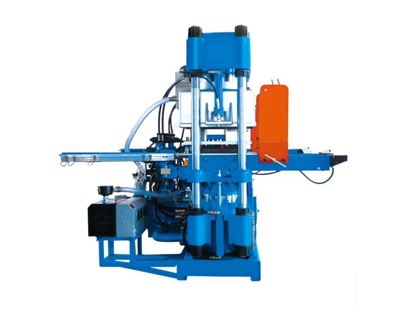 高精密双油泵全自动快速真空轨道开模油压硫化机